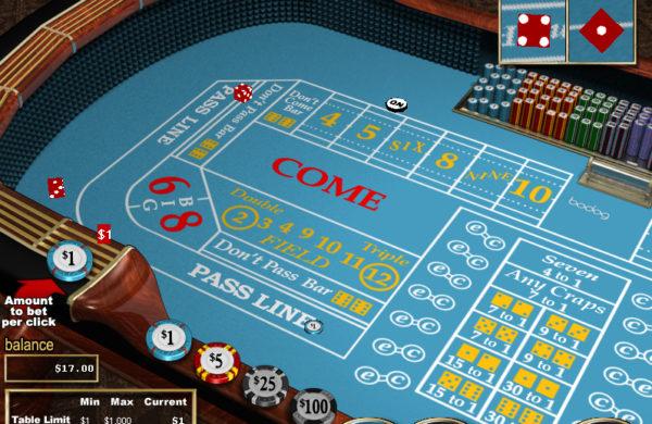 Craps Online Betting